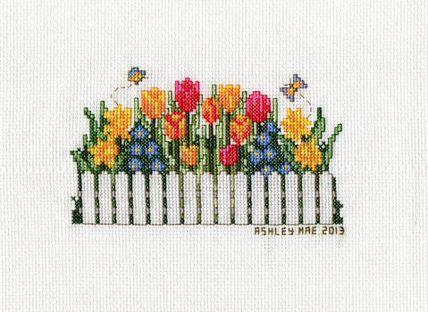 Floral Delight - Picket Fence