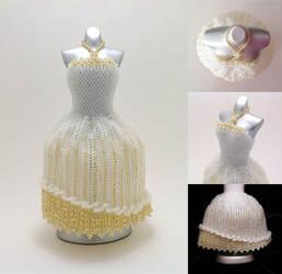 Elegant Wedding Ball Gown BeadDress