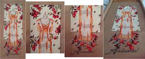 WIP 1, Mirabilia's Dressmaker's Daughter: Autumn by pinkythepink