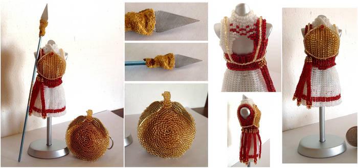 Custom - Shield Maiden Kerria Bead Dress