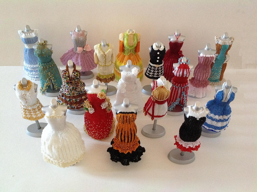 All Together Now - Bead Dresses