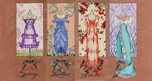 Mirabilia's Dressmaker's Daughter (No Beads)