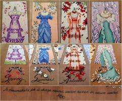 Mirabilia's Dressmaker's Daughter by pinkythepink