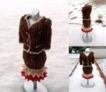 Gingerbread Mini Bead Suit