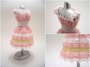 Sweet Cottage Chic Bead Dress