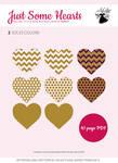 Golden Hearts - Xstitch Pattern