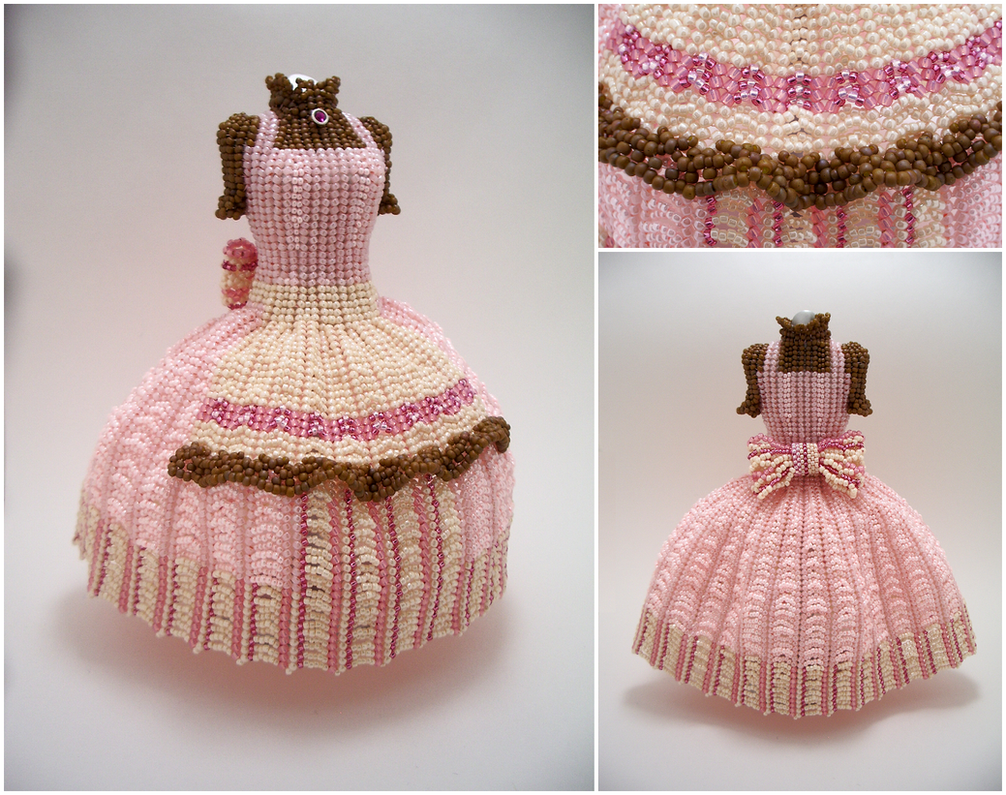 Custom - Princess Alicia Finnston II Bead Dress by pinkythepink