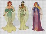 WIP-Nouveau Princess Patterns (Hannah-Alexander)3