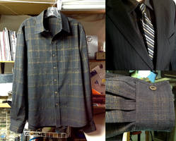 Black and Gold Dress Shirt for my Brother