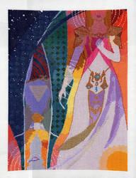 Twilight Princess WIP 4: Stitching Done (Glasmond) by pinkythepink