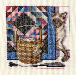 Cats, Baskets, and Quilts [Part 3]