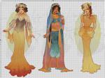 WIP-Nouveau Princess Patterns (Hannah-Alexander)5