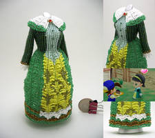 Dia, Harvest Moon: Magical Melody, Bead Dress