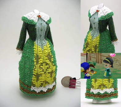 Dia, Harvest Moon: Magical Melody, Bead Dress