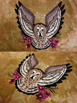 Great Grey Owl Familiar (Reimena)