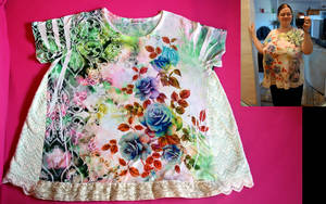 Shirt Alteration - Lacey Gussets by pinkythepink