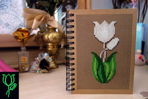 Tulip Notebook by pinkythepink