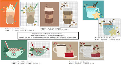Five Delicious Coffee Patterns