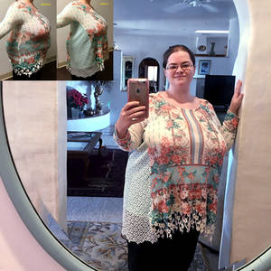 Sweater Alteration - Lacey Gussets