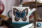 Butterfly Teapot Tissue Box