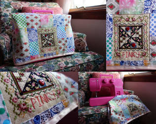 Pinky's Sewing Machine by pinkythepink