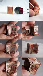 1:12 Scale Rosebank Pop Up Book Dollhouse