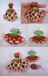 Strawberry Bead Dresses