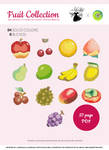 Animal Crossing Fruit Collection Xstitch Patterns
