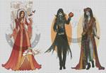 WIP-Nouveau Princess Patterns (Hannah-Alexander)9