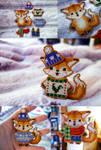 Winter Fox Paper Doll