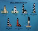 North Carolina Lighthouses by pinkythepink