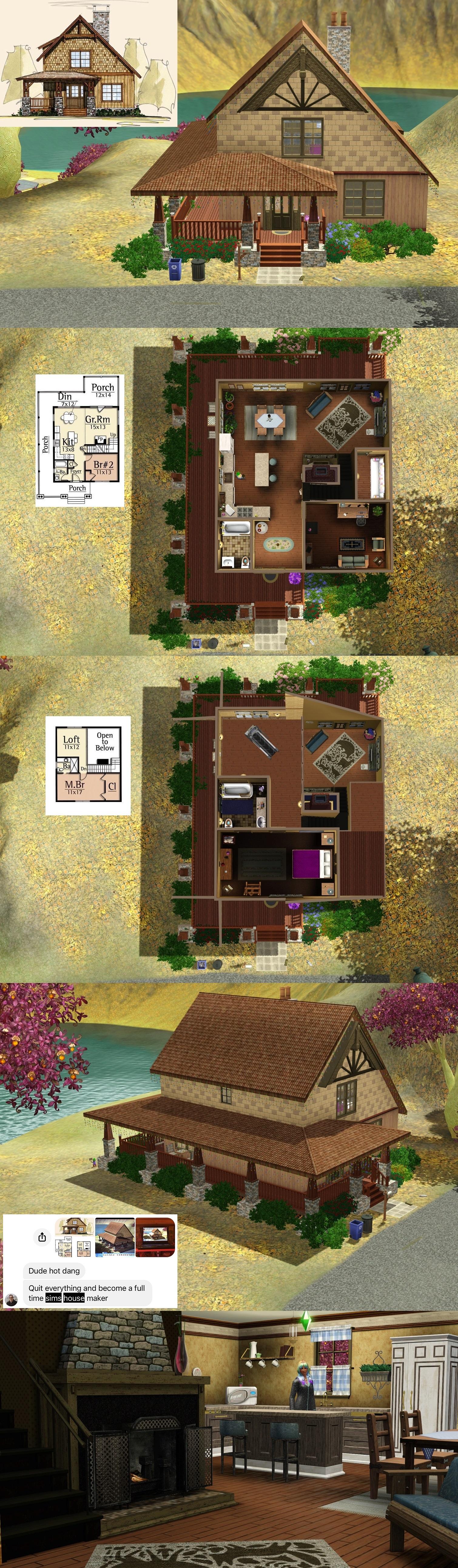 Sims 3 - Rustic Getaway