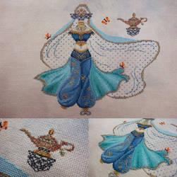 Jasmine [Brooke's Books Princess Dress Up]