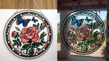 Glass Rose