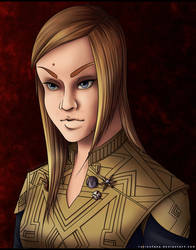 Captain Tilly of the ISS Discovery by RurinnFane