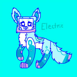 Electric Friendo by Flvffy-card