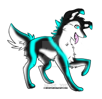Wolf adopt CLOSED by TranquilityBlue