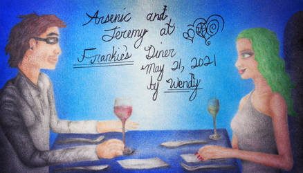 Arsenic and Jeremy at Frankie's Diner