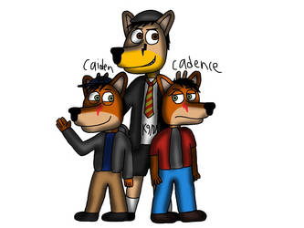 Meet Caiden and Cadence (4 yrs old) and Angus is 8 by ZachMFKAttack