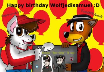 Happy birthday WJS :D by ZachMFKAttack