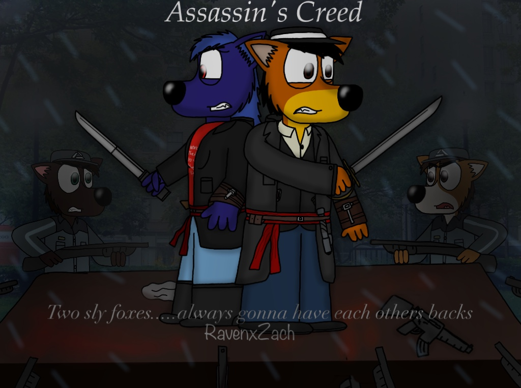 Sly Assassins always gonna have each others backs by ZachMFKAttack