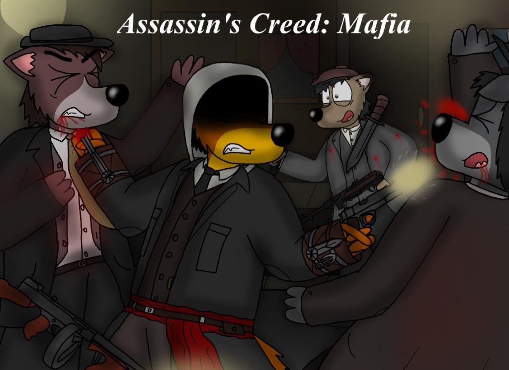 Assassins Creed and Mafia crossover by ZachMFKAttack