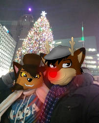 It's Christmas time in the Motor City by ZachMFKAttack