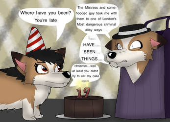 Late for Birthday cake (bday pic) by ZachMFKAttack