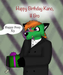 Multi colored Fox's birthday x3 (gift) by ZachMFKAttack