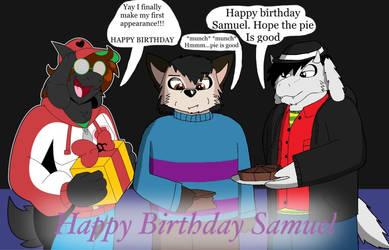 Birthday Pie (undertale bday pic)
