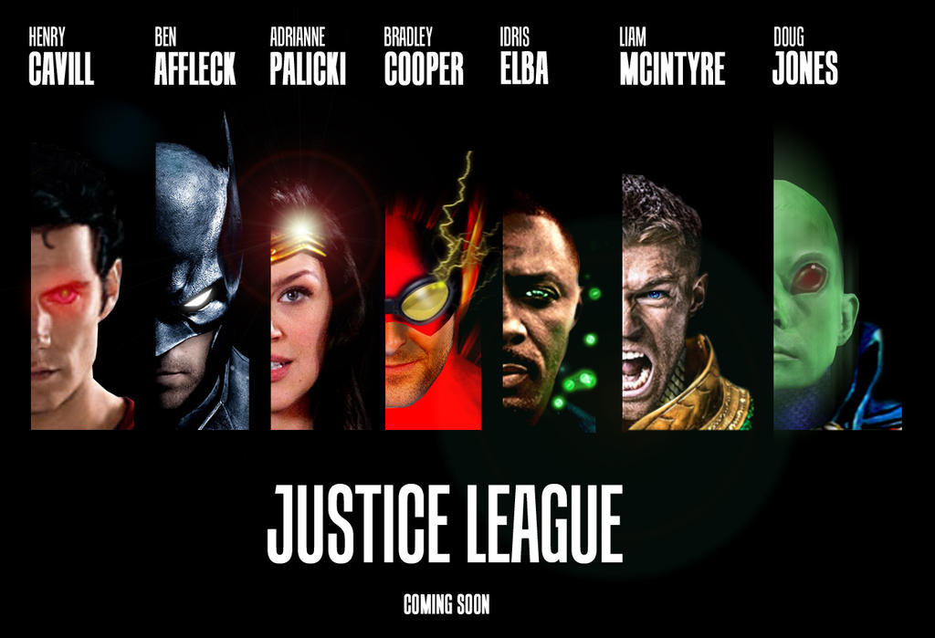 Justice League Movie Poster Teaser By MenziesTank