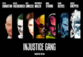 Injustice Gang Movie Poster - Teaser by MenziesTank