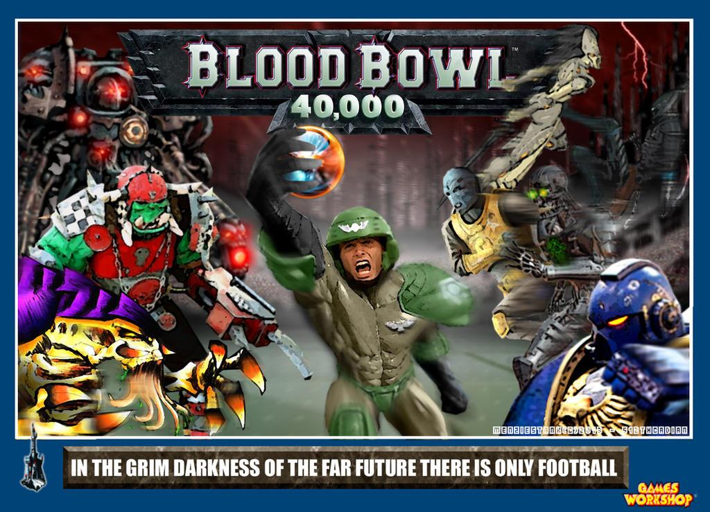 Blood Bowl 40k By Menziestank On Deviantart