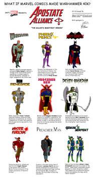 What if Marvel Comics made Warhammer 40K?